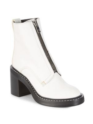 Palaia Stacked Heel Zip Boots by Rag & Bone