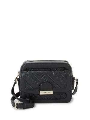 Saffiano Crossbody Bag by Love Moschino