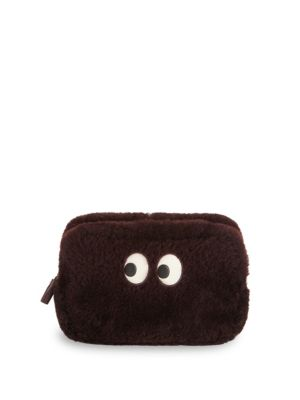 Dyed Fur Pouch by Anya Hindmarch