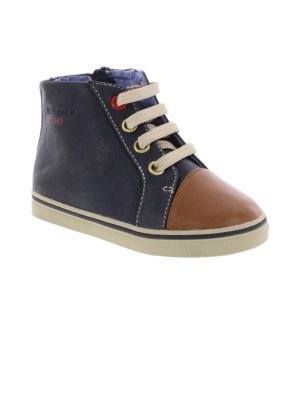 Baby Boy's Lil Dennis High Top Booties by Tommy Hilfiger