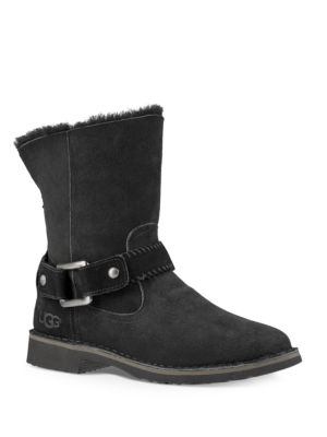 Cedric Fur Lined Leather Boots by Ugg Australia
