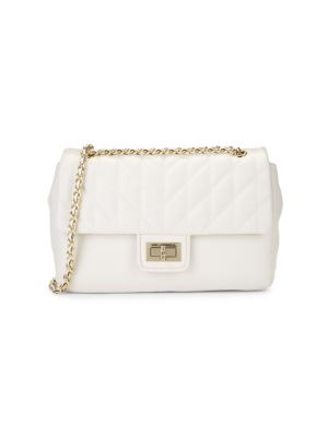 Leather Clutch by Karl Lagerfeld