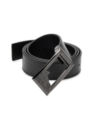 Leather Belt by Versace Collection