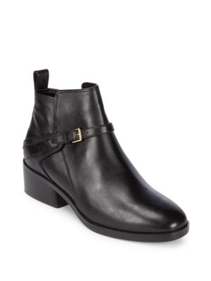 Etta Leather Booties by Cole Haan
