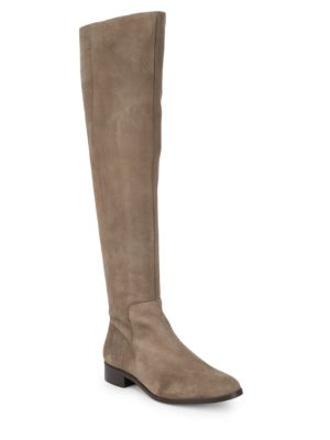 Suede Knee High Boots by Maiden Lane