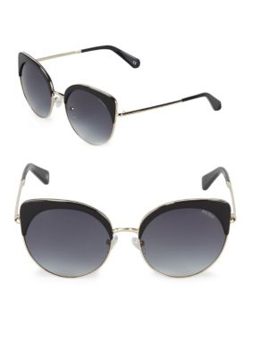 Gradient 55 Mm Cat Eye Sunglasses by Balmain