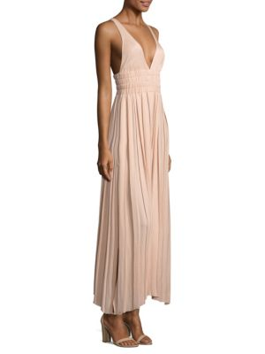 Ellison Pleated Maxi Dress by Elizabeth And James