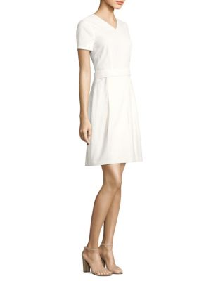 Dylena Matelasse Pleated Dress by Hugo Boss