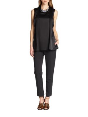Core Cropped Pencil Trousers by 3.1 Phillip Lim