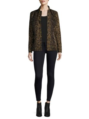 Leopard Print Safari Jacke by Jane Post