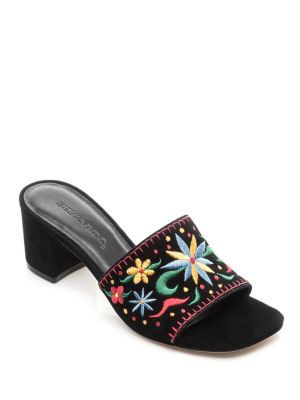 Bailey Suede Sandals by Bernardo