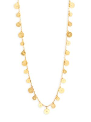 Goldtone Chain Necklace by Ben Amun