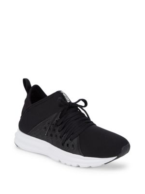 Enzo Logo Lace Up Sneakers by Puma