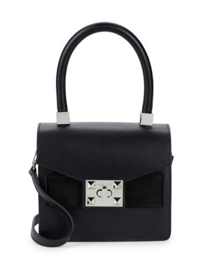 Arlete Leather Top Handle Bag by Valentino By Mario Valentino