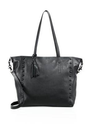 Studded Leather Tote by Loeffler Randall
