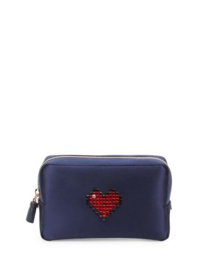 Heart Makeup Pouch by Anya Hindmarch