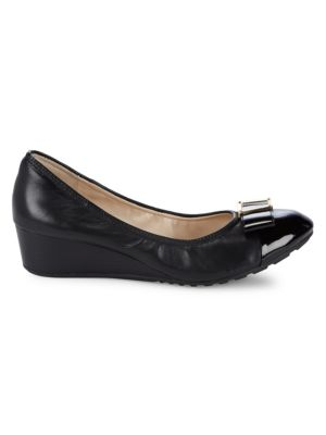 Emory Bow Slip On Wedges by Cole Haan