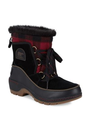 Faux Fur Lined Cold Weather Boots by Sorel