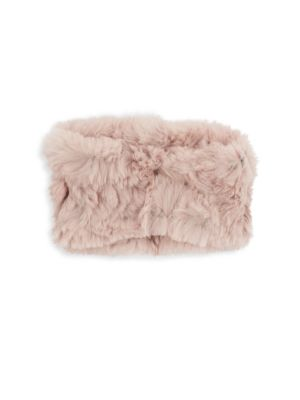 Rabbit Fur Headband by Marcus Adler