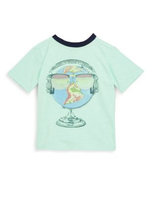Little Boy's Globe Head Tee by Andy & Evan