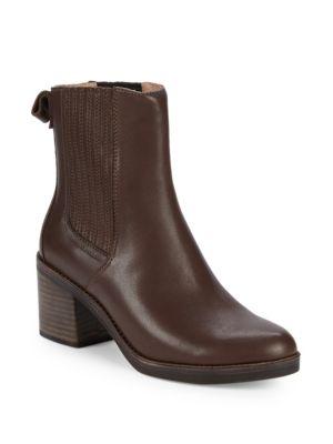 Camden Leather Block Heel Booties by Ugg Australia