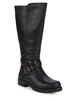 Harington Leather Ug Gpure Lined Tall Boots by Ugg Australia