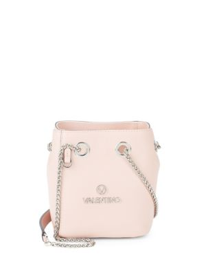 Babou Leather Bucket Bag by Valentino By Mario Valentino