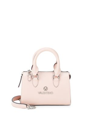Arielle Top Handle Leather Bag by Valentino By Mario Valentino