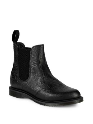 Croco Embossed Chelsea Boots by Dr. Martens