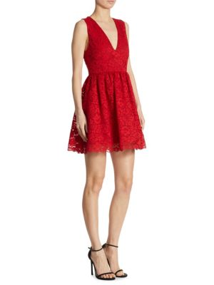 Kappa Lace Party Dress by Alice + Olivia