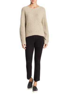 Saddle Cashmere Sweater by Vince