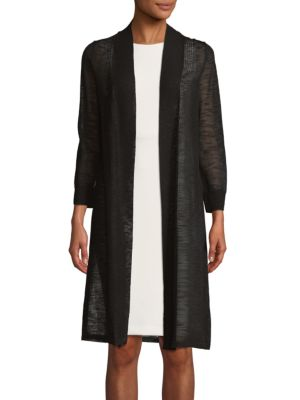 Long Open Cardigan by Calvin Klein