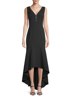 Sleeveless Hi Lo Gown by Karl Lagerfeld Paris