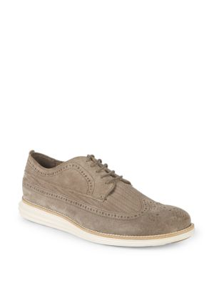 Original Grand Suede Wingtips by Cole Haan