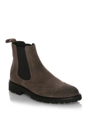 Lancaster Burnished Leather Boots by Belstaff
