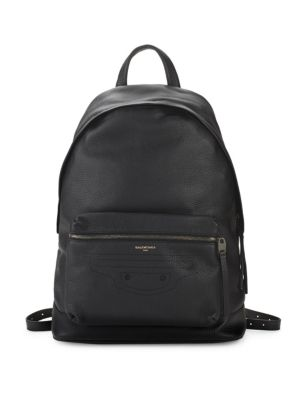Textured Leather Backpack by Balenciaga