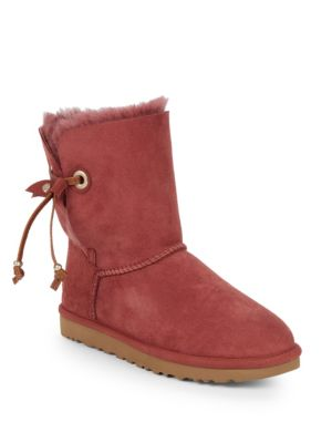 Shearling Lined Suede Ankle Boots by Ugg Australia