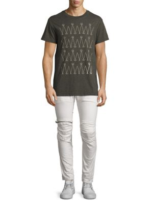 5620 3 D Sllim Fit Zip Knee Jeans by G Star Raw