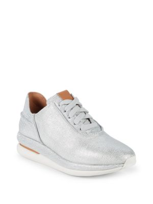 Raina Lace Up Leather Sneakers by Gentle Souls