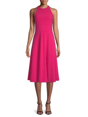 Sleeveless Midi Dress by Halston Heritage