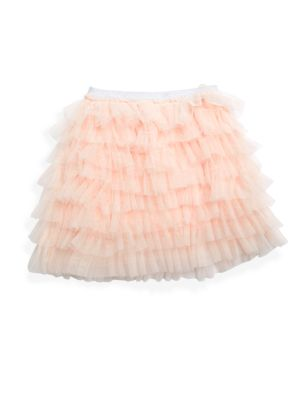 Little Girl's Tiered Ruffle Tutu Skirt by Hannah Banana