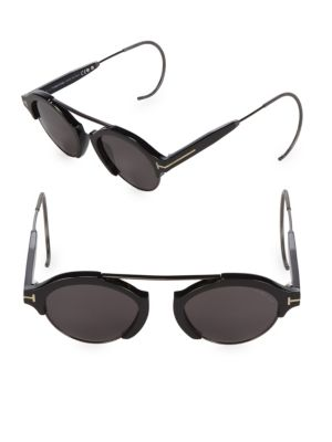 49 Mm Round Sunglasses by Tom Ford