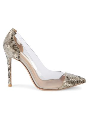 textured-point-toe-pumps by gianvito-rossi