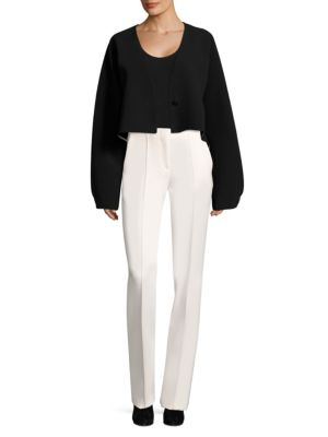 Crop Button Jacket by Diane Von Furstenberg