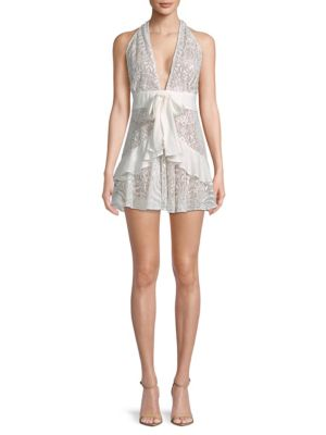 Lily Lace Halter Dress by For Love & Lemons