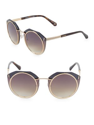 61 Mm Round Sunglasses by Balmain