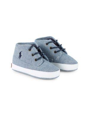 Baby Boy's Mid Top Sneakers by Ralph Lauren