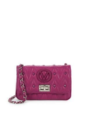 Noel Leather Crossbody Bag by Valentino By Mario Valentino