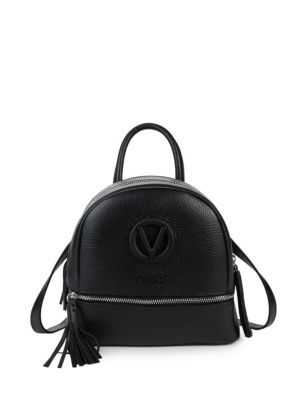 Xavier Leather Backpack by Valentino By Mario Valentino