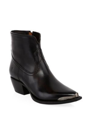 Shane Tip Short Leather Boots by Frye